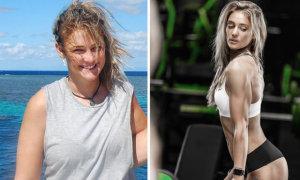 Nàng béo giảm cân đẹp nóng bỏng sau năm tháng luyện tập