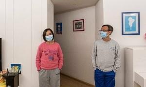 Cuộc cách ly trong gia đình hai bác sĩ