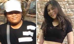 Cô gái 105 kg giảm nửa trọng lượng