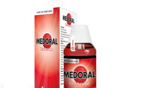 Medoral - liệu pháp hỗ trợ tại chỗ trong viêm hầu họng