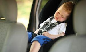 Sốc nhiệt trong ôtô đậu dưới trời nắng
