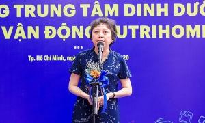 Bà Phạm Khánh Phong Lan: 'Nutrihome cần thiết với các gia đình, y tế Việt'