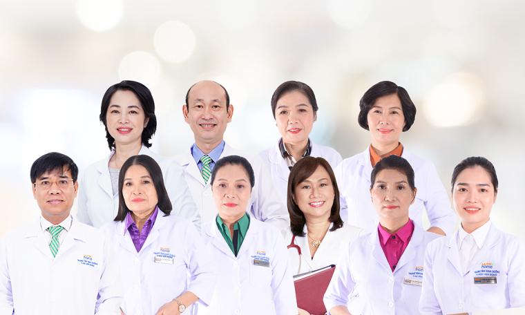 Đội ngũ bác sĩ đầu ngành dinh dưỡng, y học vận động tại Nutrihome
