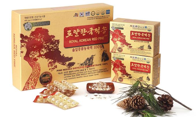 Tinh dầu thông đỏ Hoàng gia Royal Korean Red Pine đến Việt Nam