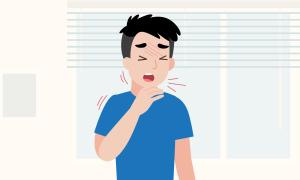 Diễn biến bệnh bạch hầu trong 8 tháng