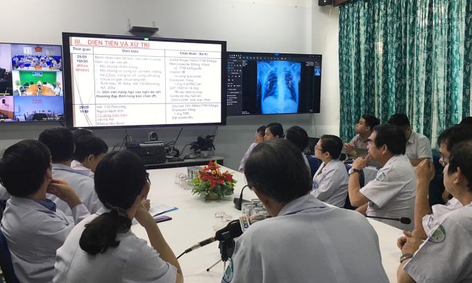 Bệnh viện Bệnh Nhiệt đới TP HCM khám chữa bệnh từ xa 24/7