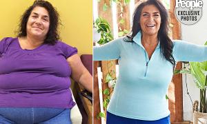 Kỳ tích giảm 85 kg của người phụ nữ trung niên