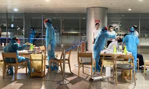 4 ca Covid-19 mới ở sân bay Tân Sơn Nhất