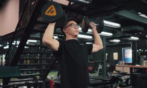 Bài tập tạ săn chắc cơ bắp