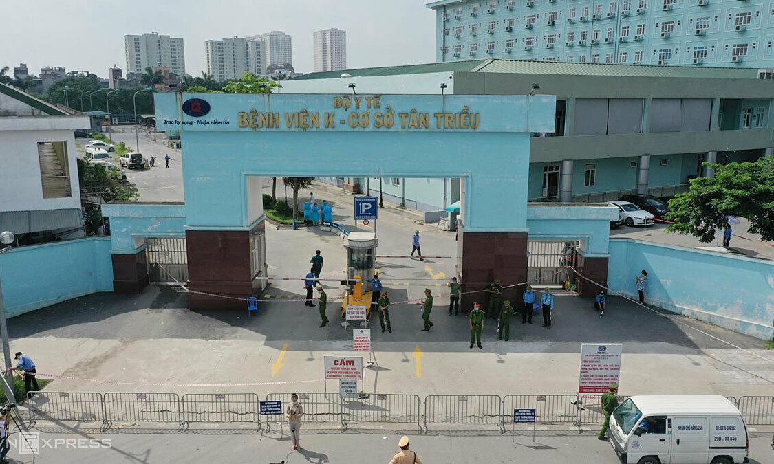 Bắc Ninh hỏa tốc tìm người đến Bệnh viện K