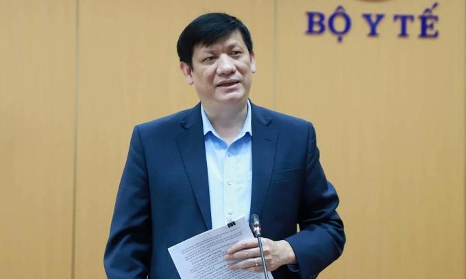 Bộ trưởng Y tế: 'Nguy cơ cao bùng phát dịch'